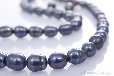 Touch of Tonga's South Pacific Black Pearls